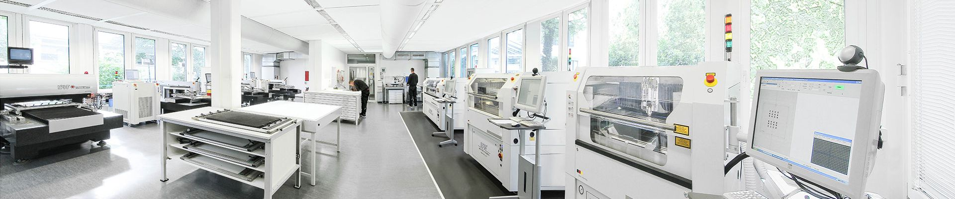 Europe's largest, most state-of-the-art production facility for SMD metal stencils